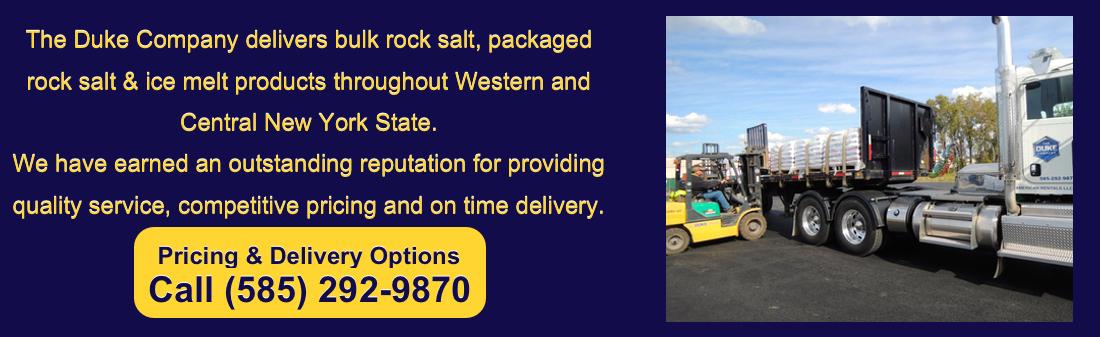 Duke Bulk Rock Salt Supplier in Upstate NY