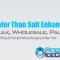 Safer Than Salt Enhanced Ice Melt