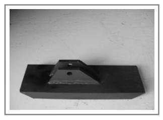OST-950 Steel Frame Snow Plow Shoe