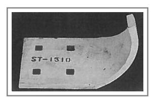 ST-1510 Steel Snow Plow Shoe