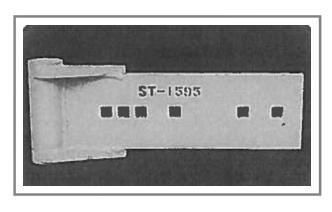 ST-1595 Steel Snow Plow Shoe