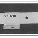 ST-640 Steel Snow Plow Shoe