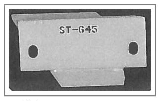ST-645 Steel Snow Plow Shoe