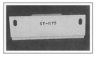 ST-675 Steel Snow Plow Shoe