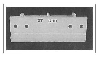 ST-680 Steel Snow Plow Shoe