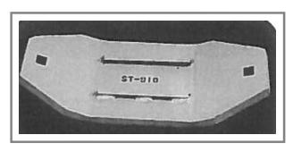 ST-910 Steel Snow Plow Shoe
