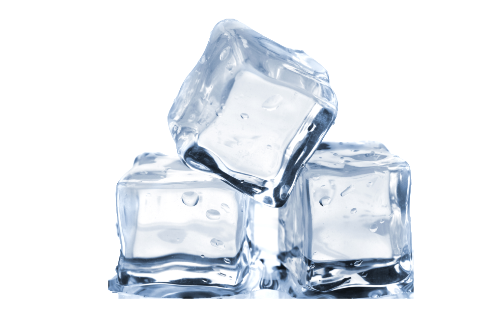 Ice Cubes with No Background