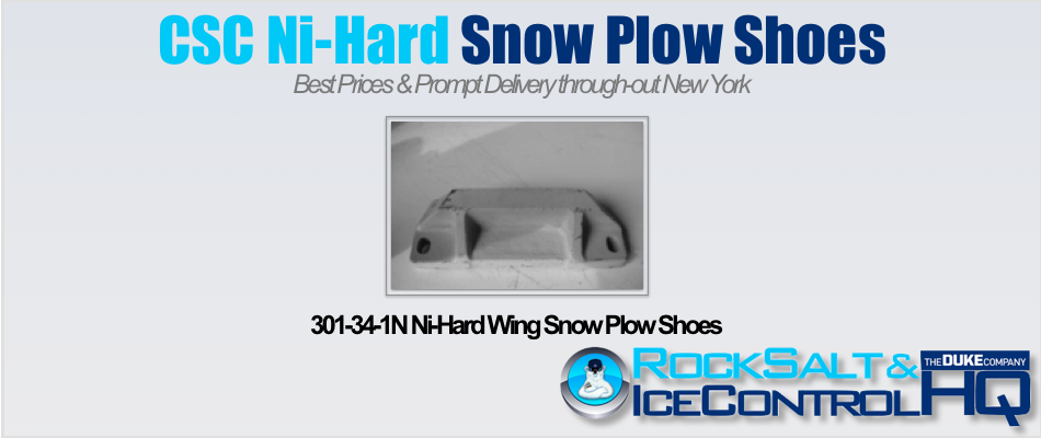 Picture of 301-34-1N Ni-Hard Wing Snow Plow Shoes