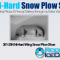 301-35N Ni-Hard Wing Snow Plow Shoe