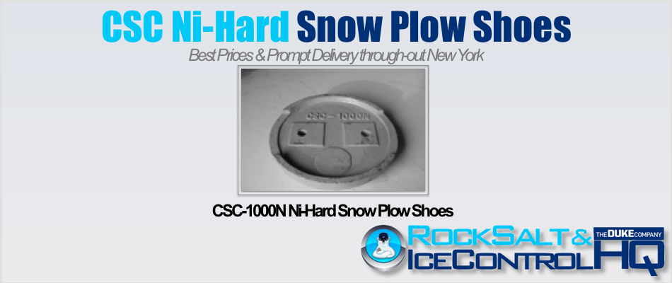 Picture of CSC-1000N Ni-Hard Snow Plow Shoes