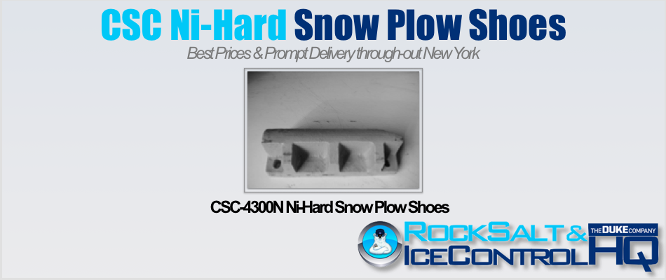 Picture of CSC-4300N Ni-Hard Snow Plow Shoes