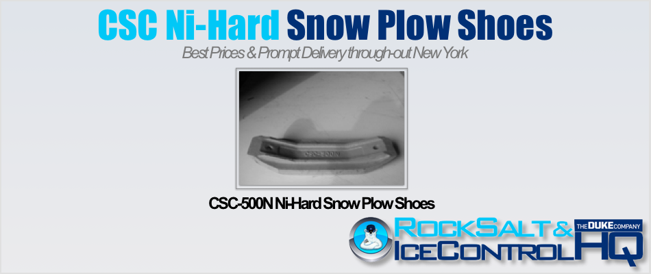 Picture of CSC-500N Ni-Hard Snow Plow Shoes