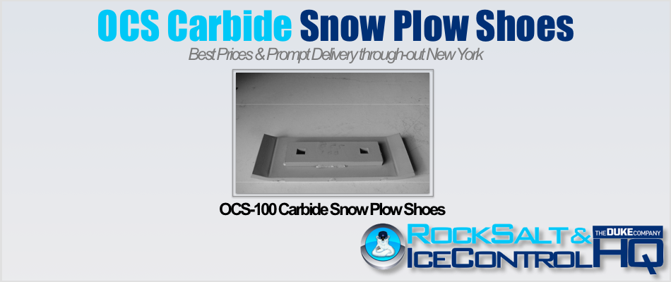 Picture of OCS-100 Carbide Snow Plow Shoes