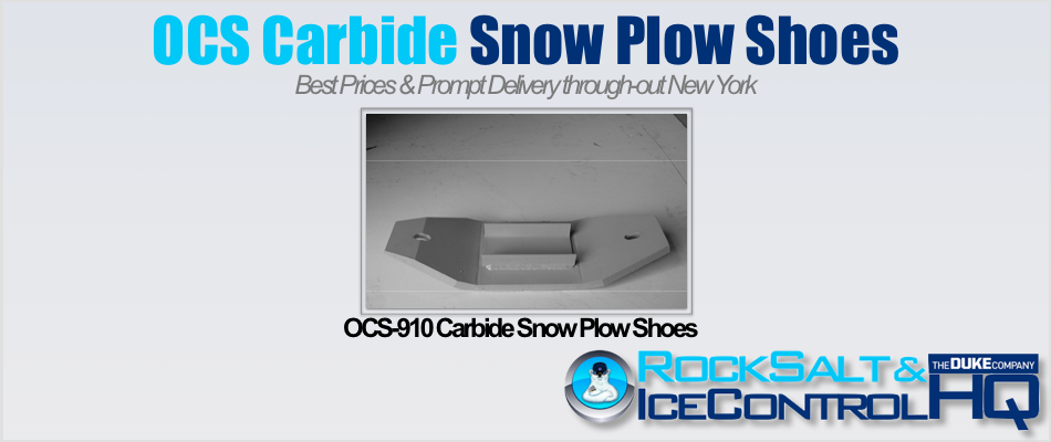 Picture of OCS-910 Carbide Snow Plow Shoes