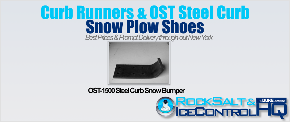 Picture of OST-1500 Steel Curb Snow Bumper
