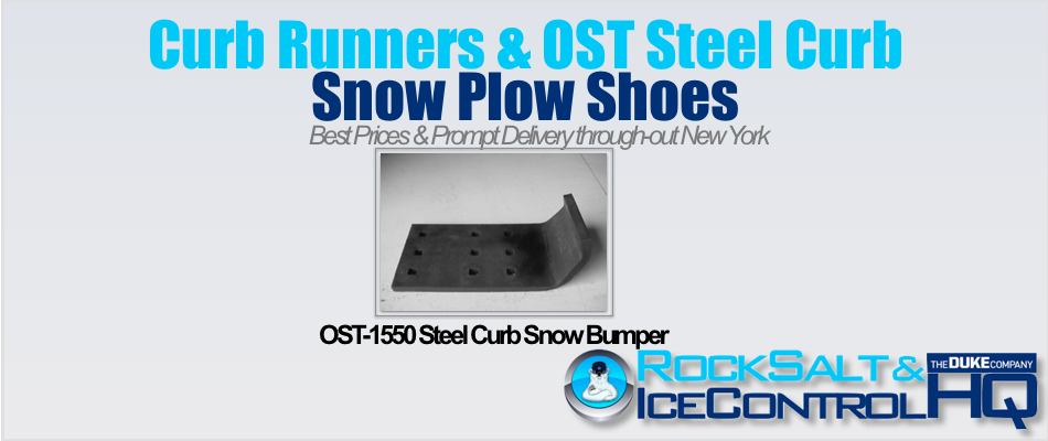 Picture of OST-1550 Steel Curb Snow Bumper