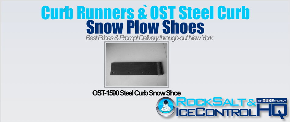 Picture of OST-1590 Steel Curb Snow Shoe
