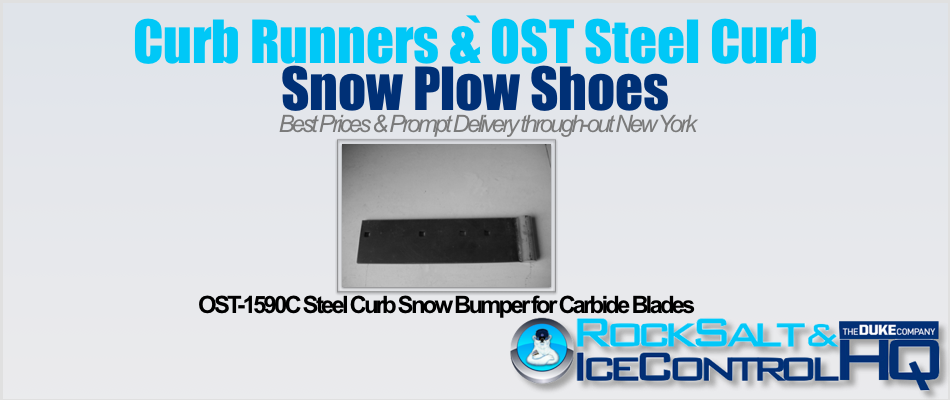 Picture of OST-1590C Steel Curb Snow Bumper for Carbide Blades
