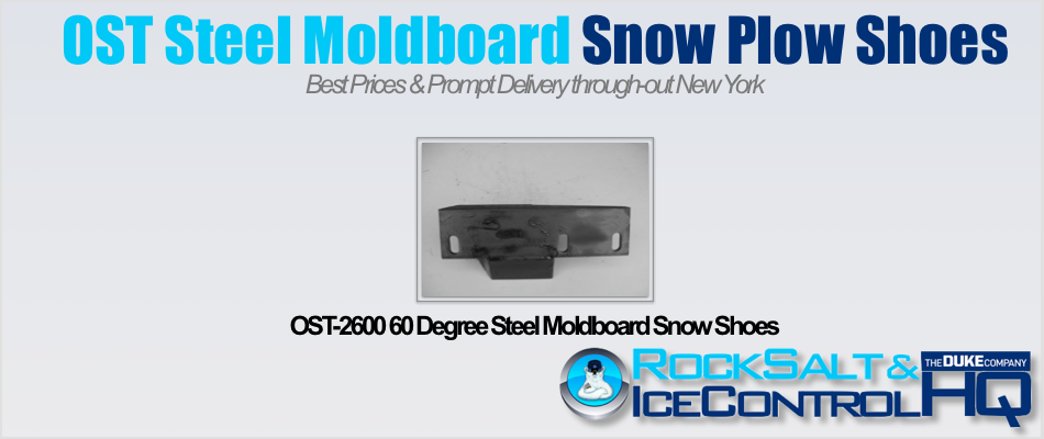 Picture of OST-2600 60 Degree Steel Moldboard Snow Shoes