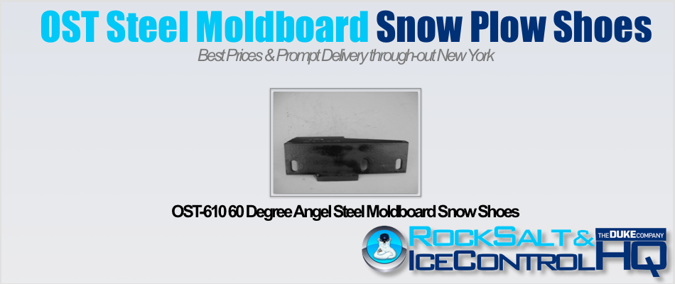 Picture of OST-610 60 Degree Angel Steel Moldboard Snow Shoes