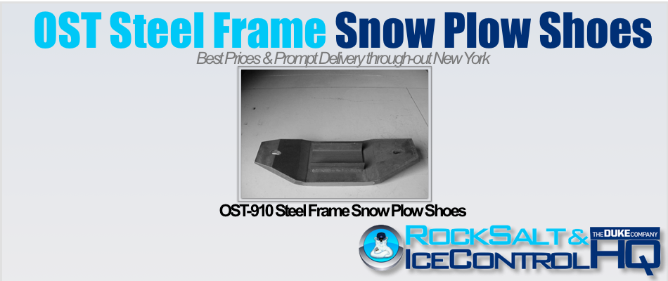 Picture of OST-910 Steel Frame Snow Plow Shoes