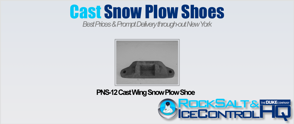 Picture of PNS-12 Cast Wing Snow Plow Shoe