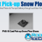 PNS-18 Cast Pick-up Snow Plow Shoes