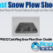 PNS-22 Cast Wing Snow Plow Shoe - Double