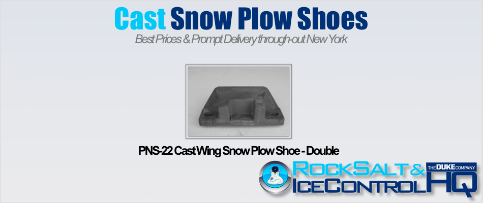 Picture of PNS-22 Cast Wing Snow Plow Shoe - Double
