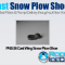 PNS-26 Cast Wing Snow Plow Shoe