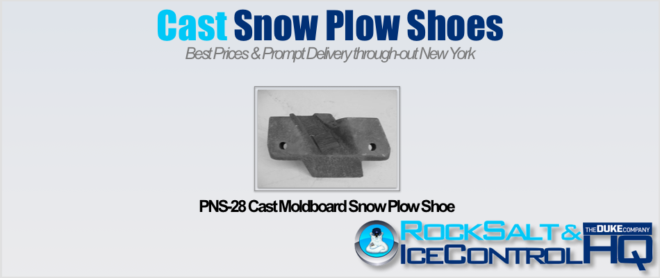 Picture of PNS-28 Cast Moldboard Snow Plow Shoe