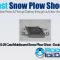 PNS-29 Cast Moldboard Snow Plow Shoe - Double