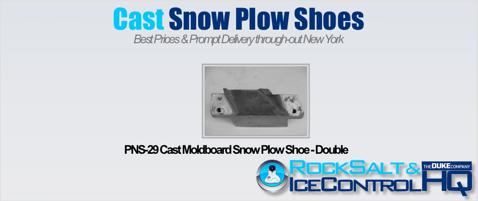 Picture of PNS-29 Cast Moldboard Snow Plow Shoe - Double