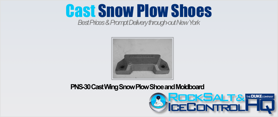 Picture of PNS-30 Cast Wing Snow Plow Shoe and Moldboard