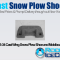 PNS-34 Cast Wing Snow Plow Shoe and Moldboard