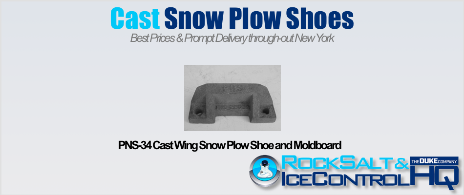 Picture of PNS-34 Cast Wing Snow Plow Shoe and Moldboard