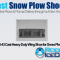 PNS-43 Cast Heavy Duty Wing Shoe for Snow Plows