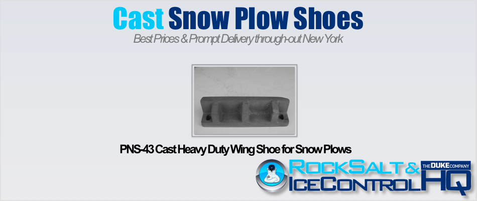 Picture of PNS-43 Cast Heavy Duty Wing Shoe for Snow Plows