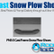 PNS-5 Cast Frame Snow Plow Shoes