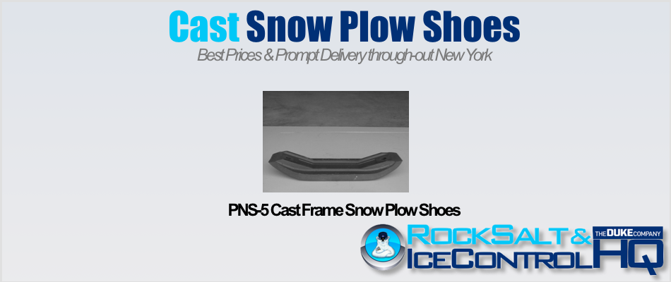 Picture of PNS-5 Cast Frame Snow Plow Shoes