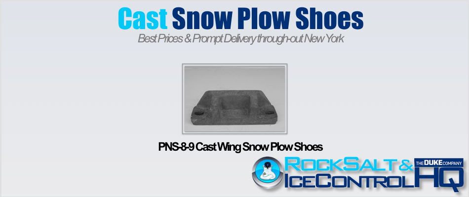 Picture of PNS-8-9 Cast Wing Snow Plow Shoes