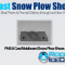 PNS-8 Cast Moldboard Snow Plow Shoes