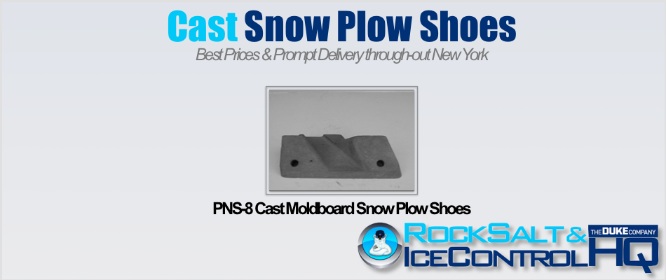 Picture of PNS-8 Cast Moldboard Snow Plow Shoes