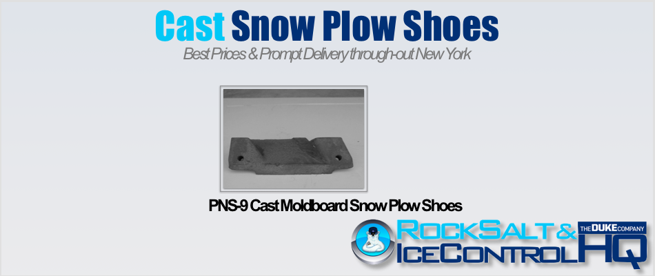 Picture of PNS-9 Cast Moldboard Snow Plow Shoes