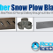 Rubber Snow Plow Blades