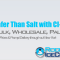 Safer Than Salt with CI-56 Ice Melt