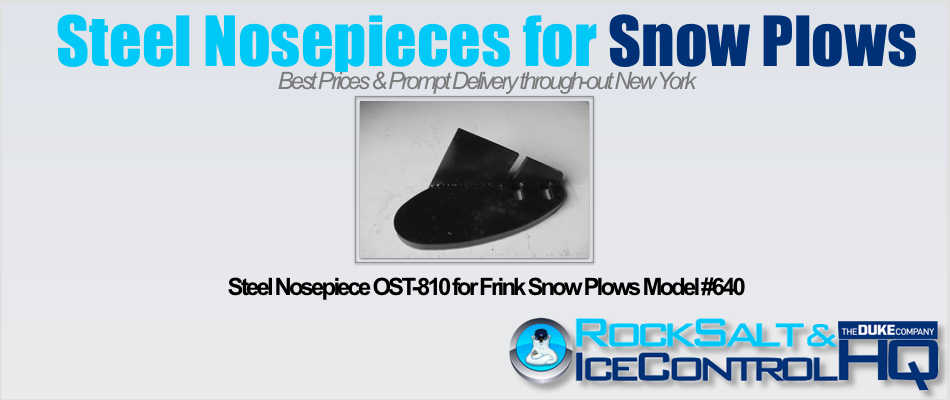 Picture of Steel Nosepiece OST-810 for Frink Snow Plows Model #640