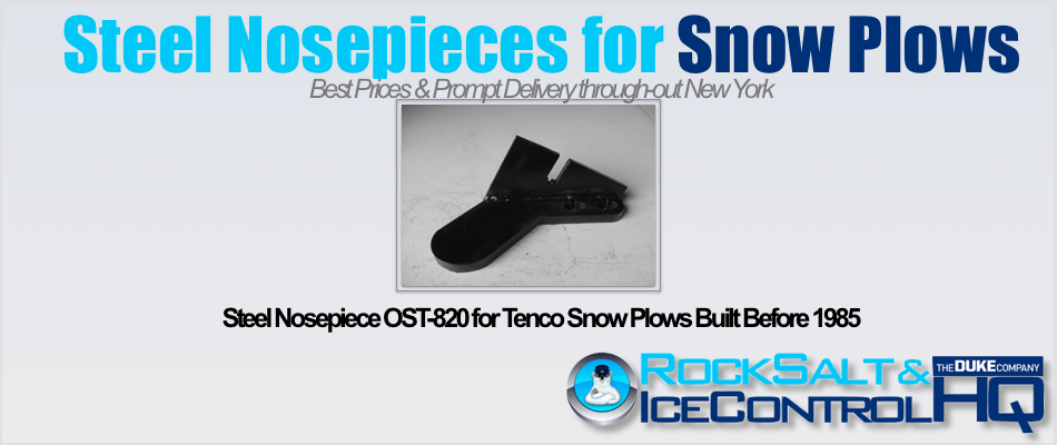 Picture of Steel Nosepiece OST-820 for Tenco Snow Plows Built Before 1985
