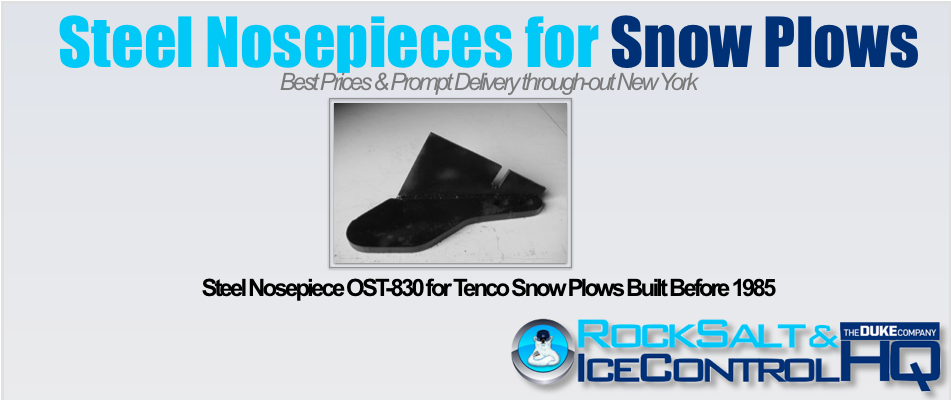 Picture of Steel Nosepiece OST-830 for Tenco Snow Plows Built Before 1985