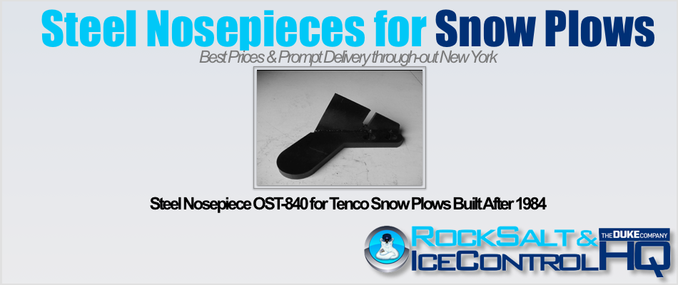 Picture of Steel Nosepiece OST-840 for Tenco Snow Plows Built After 1984